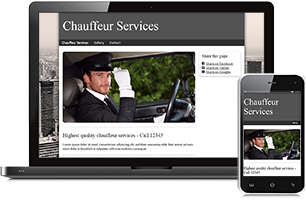 chauffeur website example